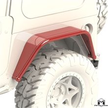 """8"""" Jeep Rear Fender Flare, TJ/LJ/YJ/CJ"""