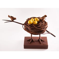 10 Over-the-Top Easter Eggs That Are Almost Too Beautiful to Eat Chocolate Work, Easter Chocolate, Christmas Chocolate, Chocolate Gifts, Chocolate Showpiece, Personalized Chocolate, Elegant Desserts, Chocolate Decorations, Gorgeous Cakes