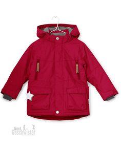 MINI A TURE Winterjacke Wandy K TEC 700 in leuchtend Rot