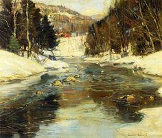 Near Springfield, Massachusetts (George Gardner Symons - No dates listed)