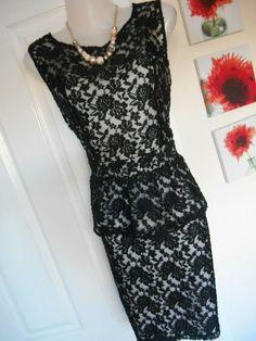Peaches/&Cream Velvet Long Sleeve Party Evening Bodycon Mini Dress 8 10 12 14 18