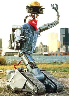 """Short Circuit - """"Your mother was a snowblower!"""" LOVE THIS MOVIE"""