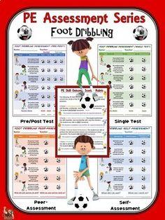 PE Assessment Series: Bundle 2- Dribbling, Striking, Stick
