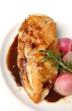 Chicken Breast with Balsamic and Garlic recipe
