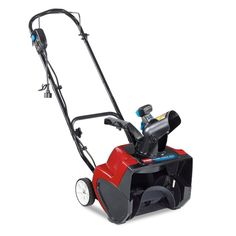 Snow Thrower Blower Electric 15 IN Swipe 15 Amp Winter Storm Electric Toro 38371 Winter is here. Get your snow blower before they are sold out. Electric Snow Shovel, Electric Snow Blower, Electric Power, Snow Shovel With Wheels, Lawn Equipment, Riding Lawn Mowers, Snow Plow