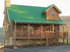 This is our fave fall getaway - Eagles Ridge Resort cabins in Pigeon Forge, TN