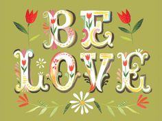 Be Love | Canvas Wall Art - Jack and Jill Boutique