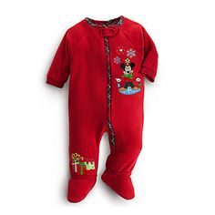 Disney Mickey Mouse Blanket Sleeper for Baby - Holiday - Personalizable 110a4d98f