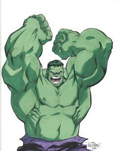 #Hulk #Fan #Art. (Hulk) By: Scott Dalrymple. (THE * 3 * STÅR * ÅWARD OF: AW YEAH, IT'S MAJOR ÅWESOMENESS!!!™)[THANK Ü 4 PINNING!!!ÅÅÅ+(OB4E)