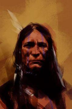Tommy Chestnut - Indian Warrior