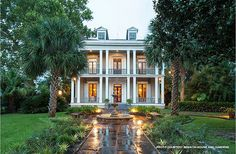Historic Real Estate: Greek Revival Edition from our blog, featuring a New Orleans house as seen on TV - http://blog.preservationnation.org/2015/01/16/historic-real-estate-greek-revival-edition
