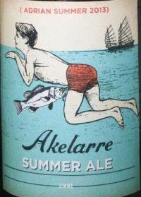 Akelarre Adrian Summer 2013  País: España  Zona: Aragón  Empresa: Akelarre Cerveza Artesana  Tipo de elaboración: Artesanal |