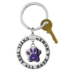 Until They All Have A Home™ Keychain at The Animal Rescue Site