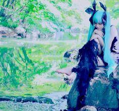 深海少女/VOCALOID - Ryouga(涼牙) Miku Hatsune Cosplay Photo - Cure WorldCosplay