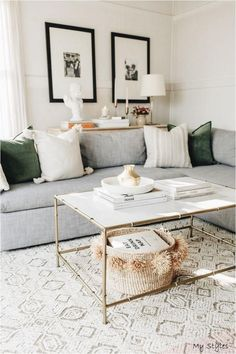 Cozy Living Rooms, Home Living Room, Rugs In Living Room, Living Room Designs, Living Room Furniture, Modern Living Room Decor, Neutral Living Rooms, Modern Furniture, Living Room With Carpet