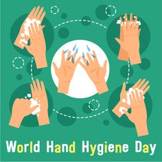 May 5 is #HandHygieneDay. Proper #handwashing helps prevent the spread of #disease: go.usa.gov/x5GuP #WashYourHands #CleanHands