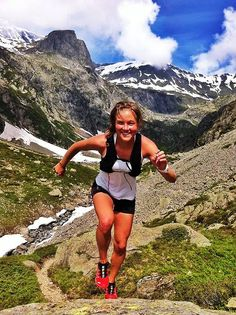 ULTRA TRAIL RUNNER - Emily Forsberg