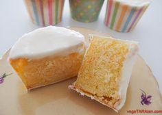 Vegan orange and lemon cupcakes - vegeTARAian