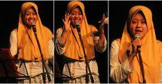 "Kholidia Evening Mutiara  @paragraphfoto  FASBuK Bulan Februari 2017 Merenda Untaian Karya Mengenang ""Aryo Gunawan"" FASBuK Asik... . . . #fasbuk #indonesiakaya #seputarkudus #sangswara #teaterkuncupmekar #instagram #sastra #musiksastra #aryogunawan #teaterstudioone"