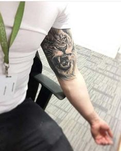 55 Best Inner Biceps Tattoos Designs and Ideas for Men and Women . - 55 Best Inner Biceps Tattoos Designs and Ideas for Men and Women - Lion Arm Tattoo, Bicep Tattoo Men, Lion Tattoo Sleeves, Inner Bicep Tattoo, Mens Lion Tattoo, Lion Tattoo Design, Best Sleeve Tattoos, Tattoo Designs Men, Lion Tattoos For Men
