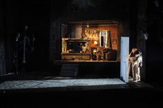 The Fairytale Lives of Russian Girls. Yale Repertory Theatre. Scenic design by Christopher Ash.