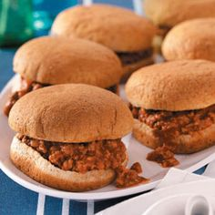Best Sloppy Joes. On the menu for this wk. I'm actually completely excited about this one- haven't had sloppy joes in FOREVER and the kids have never had them. Not sure they will go for it because of the texture but we'll see!