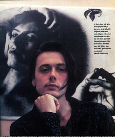 Brett Anderson in front of a David Bowie poster Do Re Mi, I Still Love Him, Guys Be Like, David Bowie Poster, Cowboys And Angels, Bowie Starman, Brett Anderson, Britpop, Rock Legends