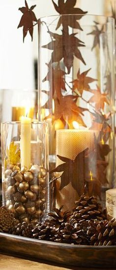 Home Holiday Decorating ♥  FALL in LOVE