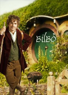 Bilbo Baggins - Martin Freeman - I can't get over what a perfect choice he is for the role of Bilbo