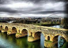 Puente romano de Merida.