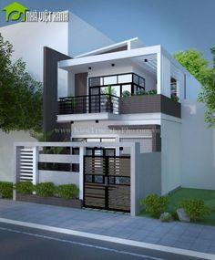 Home ideas modern floor plans ideas Narrow House Designs, Modern Exterior House Designs, Modern House Design, Modern Zen House, Small Modern Home, House Outside Design, House Front Design, Modern Floor Plans, Model House Plan