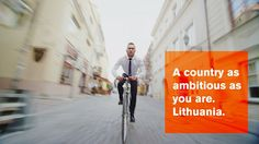 Country as ambitious as you are... Video by Invest in Lithuania. http://www.investlithuania.com/