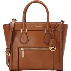 MICHAEL Michael Kors Colette Zip Large Satchel - eBags.com