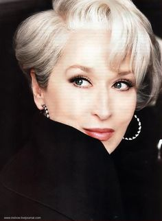 Meryl Streep as Miranda Priestly. The Devil Wears Prada.