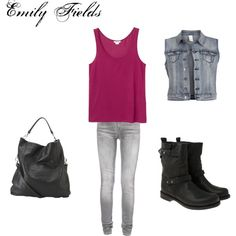 """""""Emily Fields-Pretty Little Liars"""" by rebecca-fitzpatrick on Polyvore"""