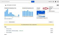 Ahora podemos descargar un archivo con todo el historial de búsquedas en Google que hemos realizado para su revisión y consulta offline.