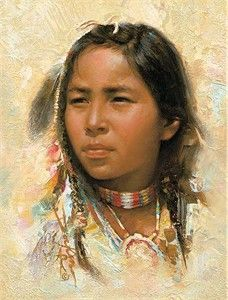 "Russ Docken Wrapped Open Edition Canvas: ""Son of the Chief"""