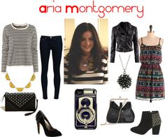 """""""Aria Montgomery"""" by dira912 on Polyvore"""