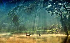 Lake Situ Gunung at West Java province, Indonesia