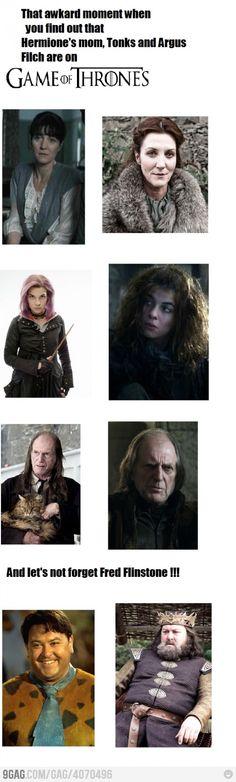 Game of Hogwarts