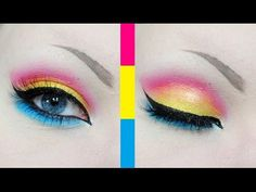 Pansexual Pride Makeup Tutorial