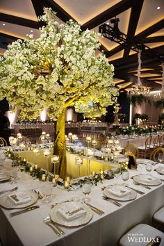 WedLuxe– An Enchanting New Year's Eve Wedding | Photography by: Hong Photography and Cinema Inc. Follow @WedLuxe for more wedding inspiration!