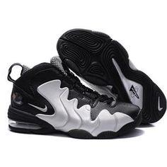 finest selection c21a3 7a531 Nike Air Penny Retro Black Silver Sport Nike Air Max Mens, Nike Air Jordan