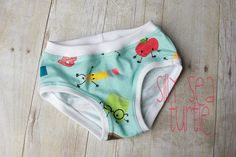 Back to school Girls Panties 1st day of school by SillySeaTurtle