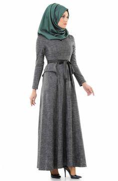 Robe femme Etnika-Gris 32773-17