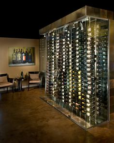 glass wine cellars   New Construction and Complete Remodel Services