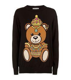 MOSCHINO Teddy Bear Jumper. #moschino #cloth #