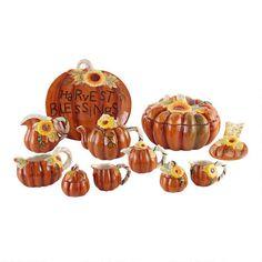 Harvest Pumpkin Serveware | Christmas Tree Shops andThat!