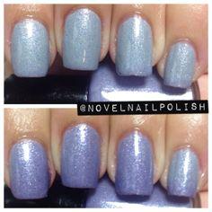 Full Size 13.2 mL Blue Grey to Purple Shimmer by NovelNailPolish, $10.00