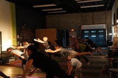 learning yoga @ Rise Above: Breaking Habits